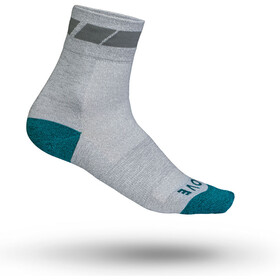 GripGrab Classic Regular Cut Calcetines ciclismo Mujer, grey
